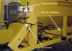HSa – Lance hydraulique pour émulsion à froid
